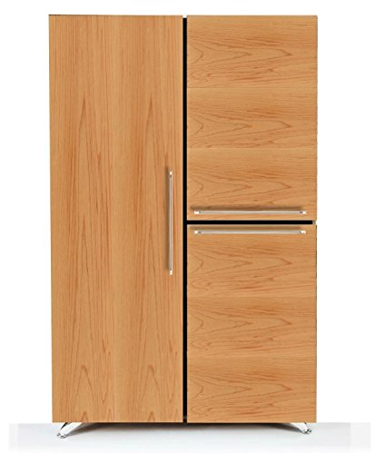 Modern by Diamante West Federal Armoire (Natural Maple) by Modern by Diamante