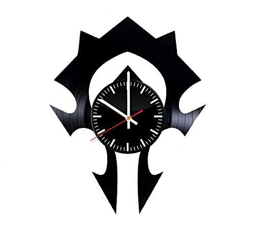 LKCAK World of Warcraft Vinyl Clock - Wow Videojuego Arte de ...