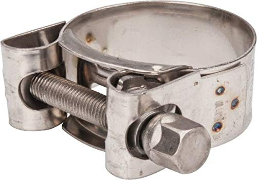T-Bolt Hose Clamp 1-1//2 Hose Mikalor 0.78 Wide x 0.04 Thick 12 Pack