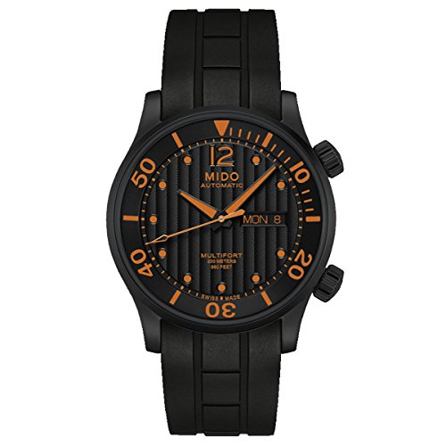 Mido Rubber Band Automatic Multifort Watch