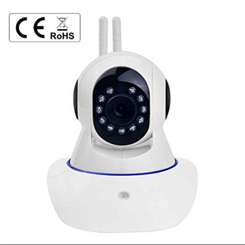 Wireless ip kamera Alarmanlagen Surveillance kamera 1280X720P Hohe AuflöSung ,IR LED Nachtsicht,Wlan Netzwerk ip kamera Alarmanlagen mit IR Nachtsicht/Bewegungsmelder (Colour 1)