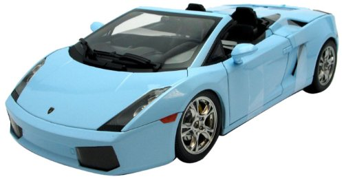 Norev Wholesale Lamborghini Gallardo Spyder Baby Blue 1/18 Diecast Car Model