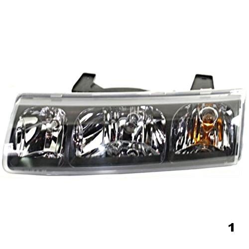 (Aftermarket Fits 02-04 Saturn Vue Left Driver Headlamp Assembly)