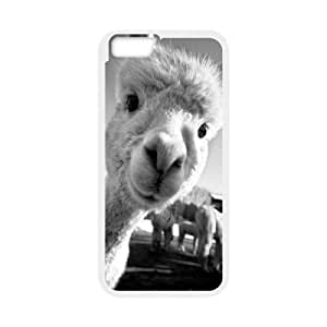 Top Iphone Case, Llama Lama Iphone 6 PC (Laser Technology) Case Cover New Style,Best Iphone 6 Case