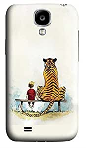 Samsung Galaxy S4 I9500 Hard Case - The Young And The Tiger Galaxy S4 Cases