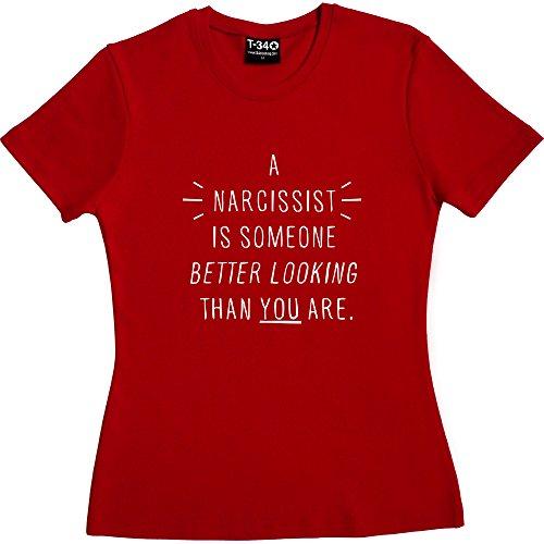 T34 - Camiseta - para mujer Red Women's T-Shirt