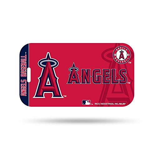 Los Angeles Angels Anaheim Plastic Luggage Tag Bag Identification Baseball