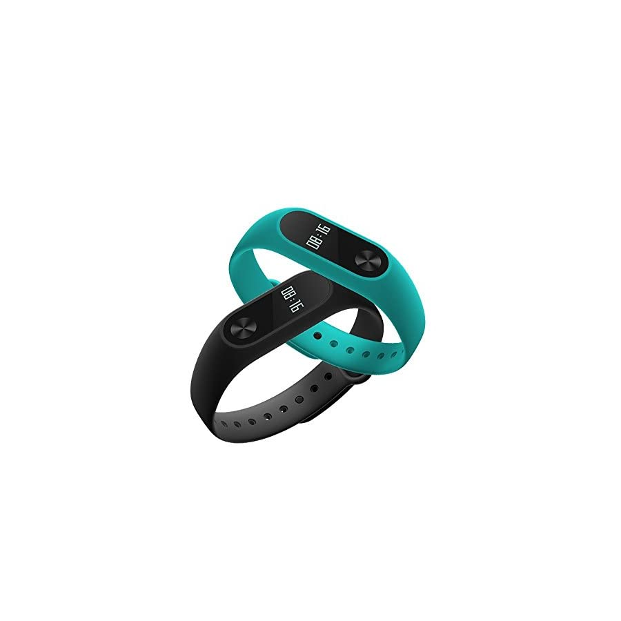 Original Xiaomi Mi Band 2 Heart Rate Monitor Smart Wristband with OLED Display Black