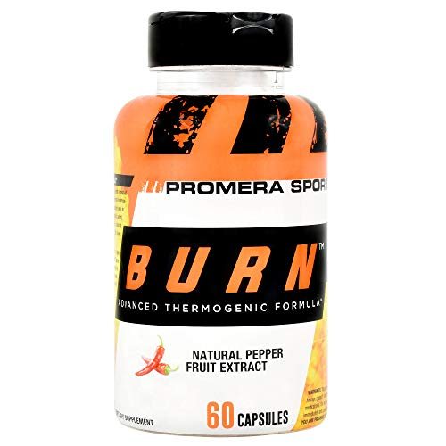 ProMera Sports Burn, Thermogenic Fat Burner for Weight Loss and Energy, 60 capsules