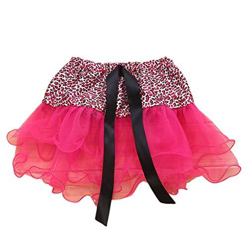A0127 Baby Mädchen Halloween Kostüm Band Bowknot Leopard