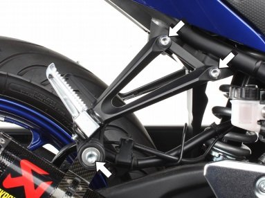 (Akrapovic Muffler Bracket For Yamaha YZF R3 15-17)