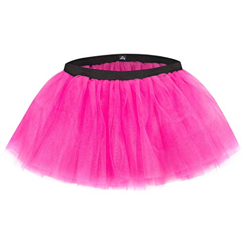 Gone For a Run Runners Tutu Lightweight | One Size Fits Most | Neon Pink ()