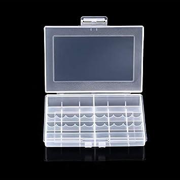 Estuche de plástico Duro Transparente Caja LEISE 8002 ...