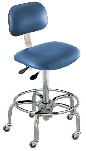 - BioFit - BTT-L-R-1000-AV106 - Upholstered Vinyl Ergonomic Chair with 17 to 22 Seat Height Range and 300 lb. Weight Capacity, Roy