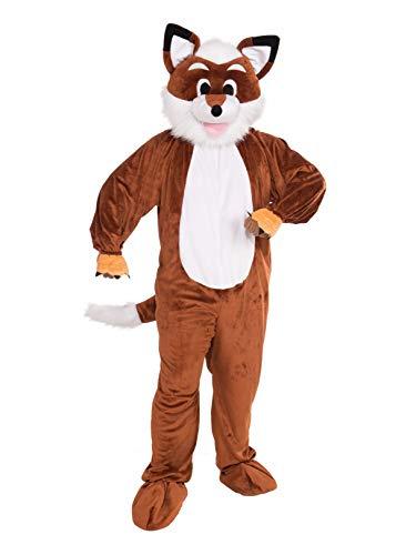 Unisex Adult Fox Mascot
