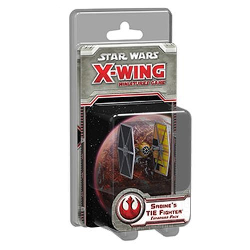 [X-Wing: Sabine'S Tie Fighter Expansion Pack Game] (Star Wars Rebels Tie Fighter)
