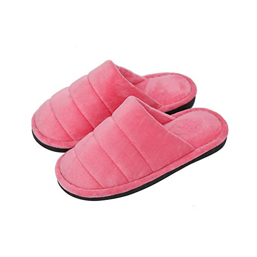 Ciabatte Di colore Antiscivolo Casa Pattini Pantofole Pantofola Coreano Anguria Cotone Rossa Brown Lebao 43 Caldo Peluche Casual Dimensioni Home Morbido Scarpe Cotone 42 WvIcISq