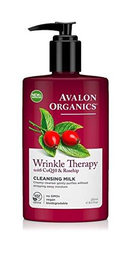 Avalon Organics Coq10 Wrinkle Therapy Avalon Organics Facial Cleansing Milk Lavender