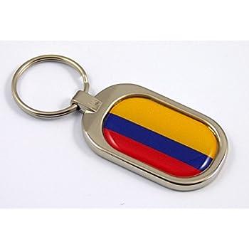 Jamaica Jamaican  Flag Acrylic Key Ring 3 Sizes Double Sided Keychain