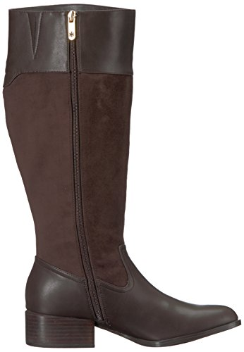 Women's Hilfiger Equestrian Madeln Brown Tommy Brown Boot Wc qpx5q8T
