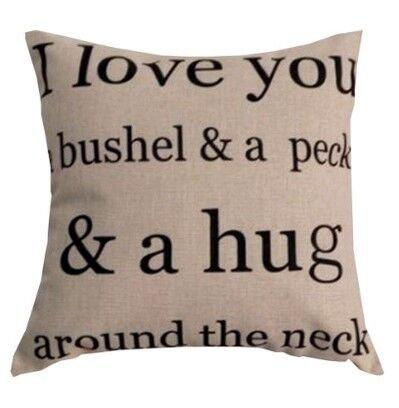 FINGON Custom Pillow Cover Personalized Pillowcase
