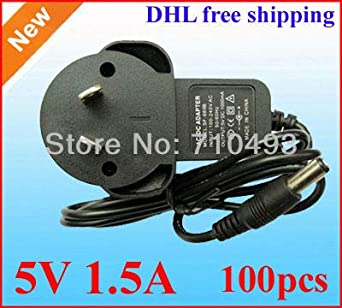Wholesale lots 12V 1A 5.5*2.5mm Negative Inside AC//DC Adapter Charger Converter