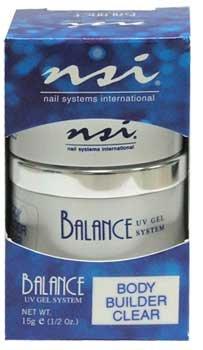 NSI Balance UV Gel - Builder Clear - 0.5oz / 15g