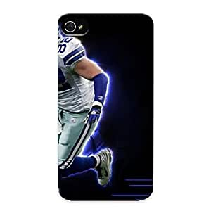 New Fashionable Pinkroses QzQHcc-4457-ePLpl Cover Case Specially Made For Iphone 4/4s(jason Witten Nfl Player)