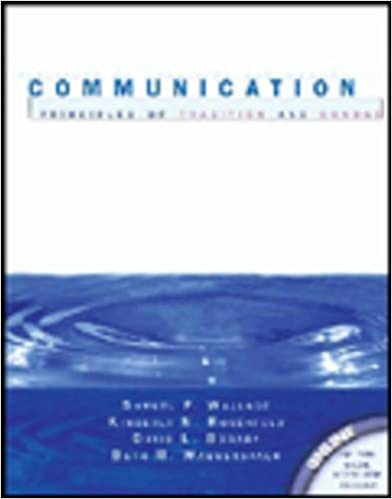 Book Communication: Principles of Tradition and Change