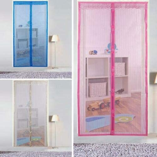Mosquitera magnetica magic mesh cortina anti mosquitos insectos ...