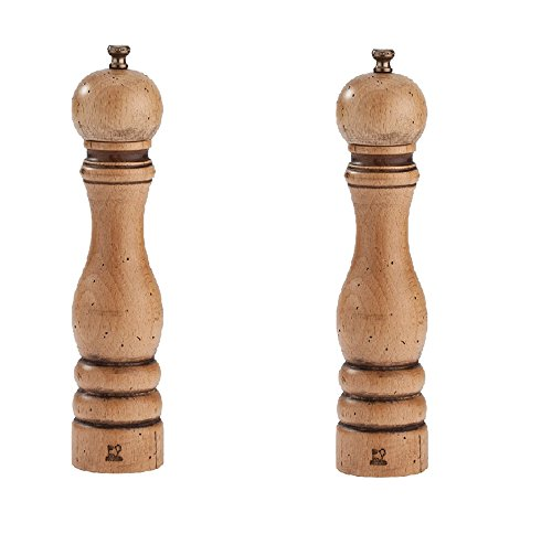 Peugeot Paris Antique Salt And Pepper Mill Set 8 3/4""