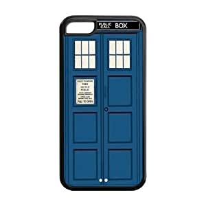 Doctor Who Tardis Personalized TPU Case for Apple iPhone 5C