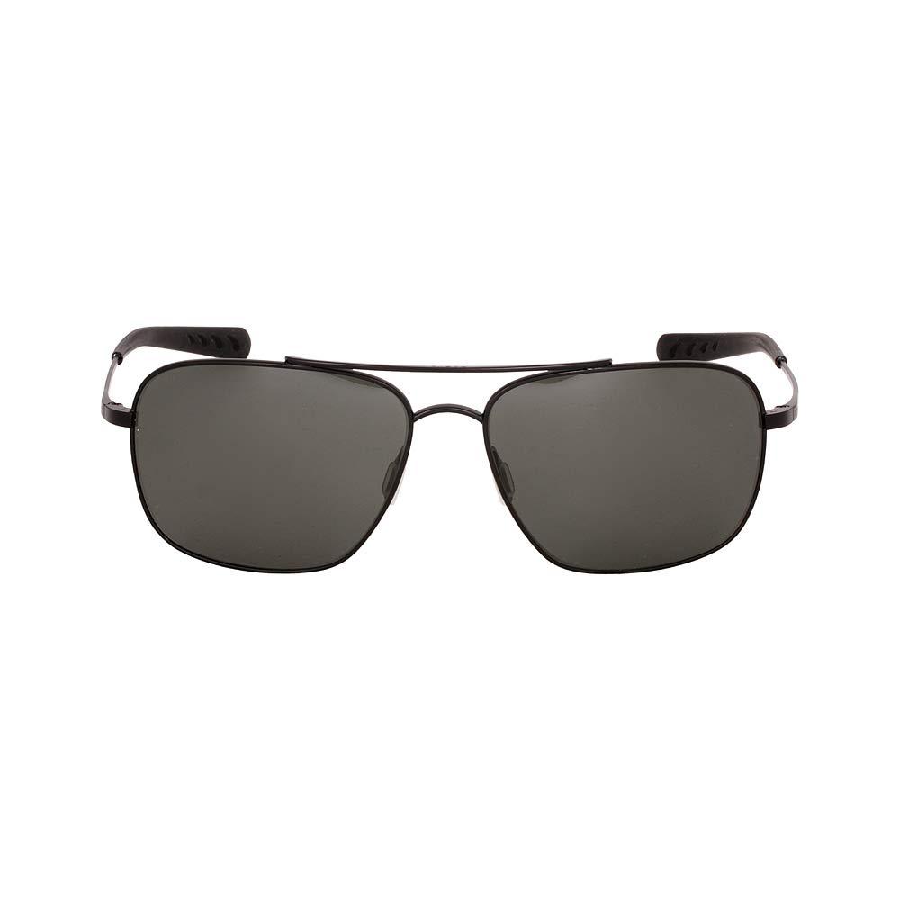 Costa Del Mar Canaveral Sunglasses Satin Black Frame/Gray 580Glass, One Size