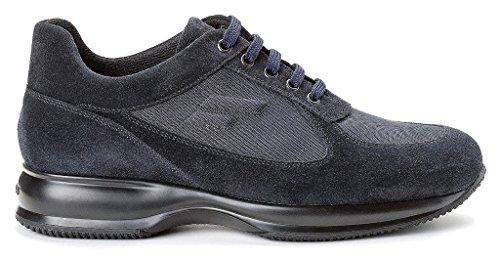 FRAU24D4 sneakers suede/tech- fondo TPU LIGHT Blu