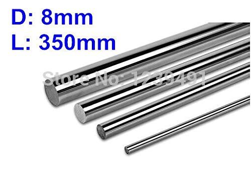 350mm Linear Round Shaft Ochoos 4pcs Dia 8mm