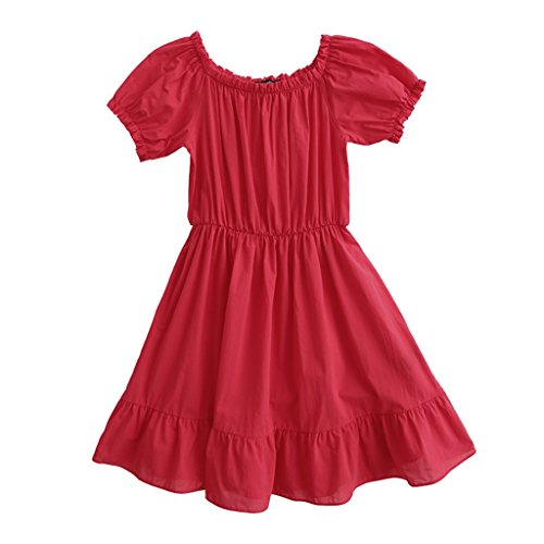 camicia sexy da Rosso Estate pigiama confortevole ALUK cotone S Rosso cotone Colore sposa notte parola rosso dimensioni wRqIwXH5