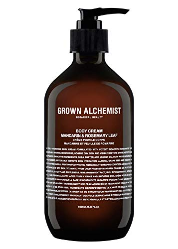 Grown Alchemist Body Cream - Mandarin & Rosemary Leaf (500 ml / 16.9oz)