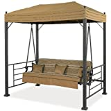 mainstays 3 person daybed swing instructions