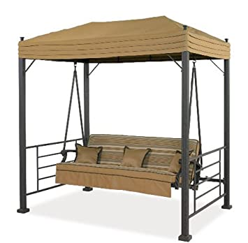 Garden Winds LCM600 Replacement Canopy For Sonoma Swing, Palm Canyon Swing  And Sydney Swing