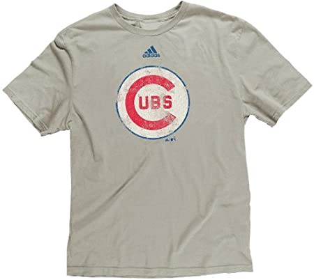 adidas Chicago Cubs Youth Niño Retro Logo Soft Premium T-shirt camisa