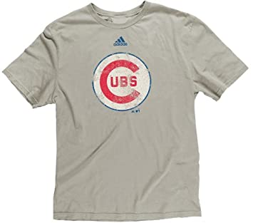 Adidas Chicago Cubs Youth Niño Retro Logo Soft Premium T-shirt camisa: Amazon.es: Deportes y aire libre