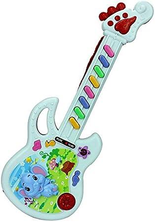 Juguetes niños juguete guitarra instrumentos musicales teclado piano niño mini piano guitarra electrica , red: Amazon.es: Deportes y aire libre
