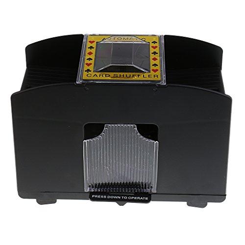 Jili Online Automatic Poker Card Shuffler Battery Operated Casino Fun Game 1-4 Decks Playing Shuffling Machine Gift by Jili Online
