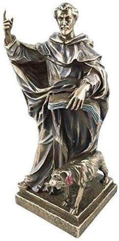 Saint Dominic of Dominican Order Catholic Priest Figurine Patron Saint of Ast...