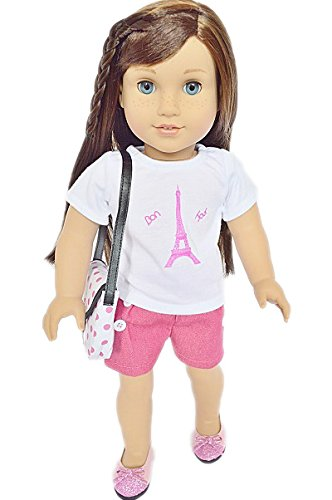My Brittany's Paris Outfit for American Girl Dolls-Includes Purse and Shoes (Brittany Doll)