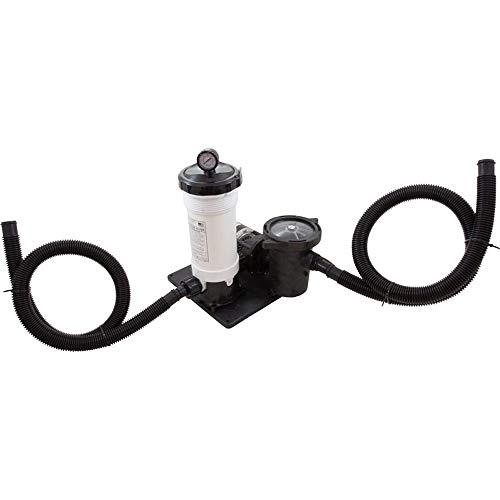 Waterway Plastics 806105098115 50 Sq.-Feet Complete 1 hp TWM Cartridge Above Ground Pool Filter System