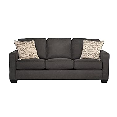 Signature Design by Ashley Rendenn Sofa, Charcoal
