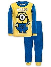 Boys Double Sided Minion Pajama Sizes 4-10