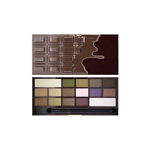 I Heart Eye Shadow Palette I Heart Chocolate (Pack of 6) - 私は心のアイシャドウパレットハートチョコレート x6 [並行輸入品] B071V82RJC