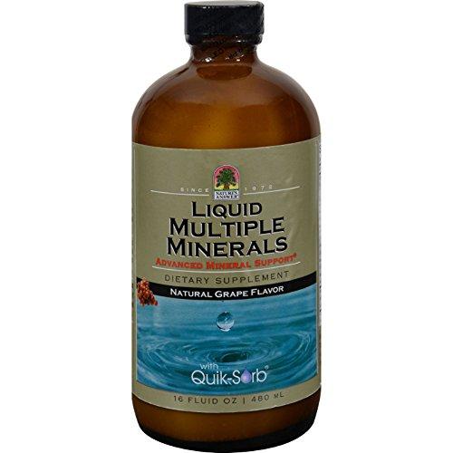 Nature's Answer Liquid Multiple Minerals Grape - 16 fl oz -